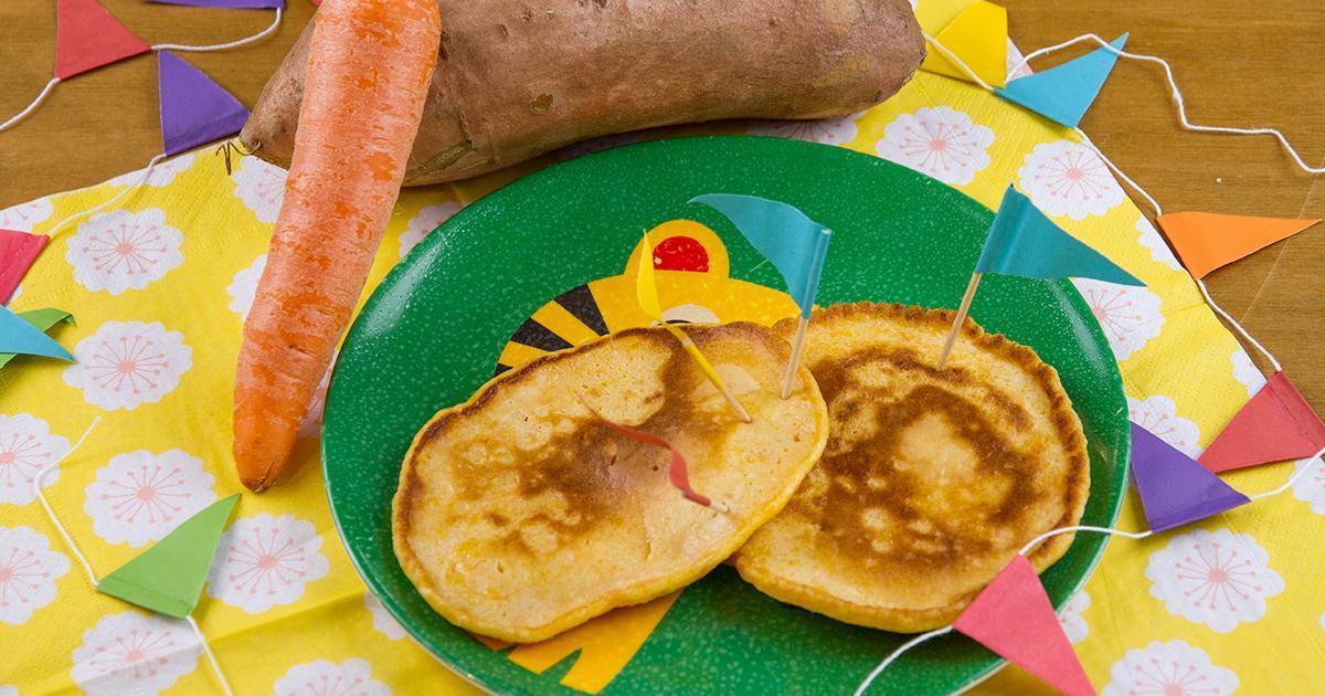Karls Karotten Pfannkuchen