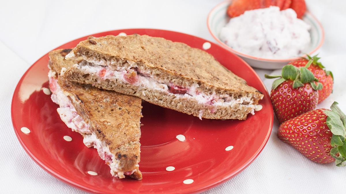 Eddas Erdbeer French Toast Rezept