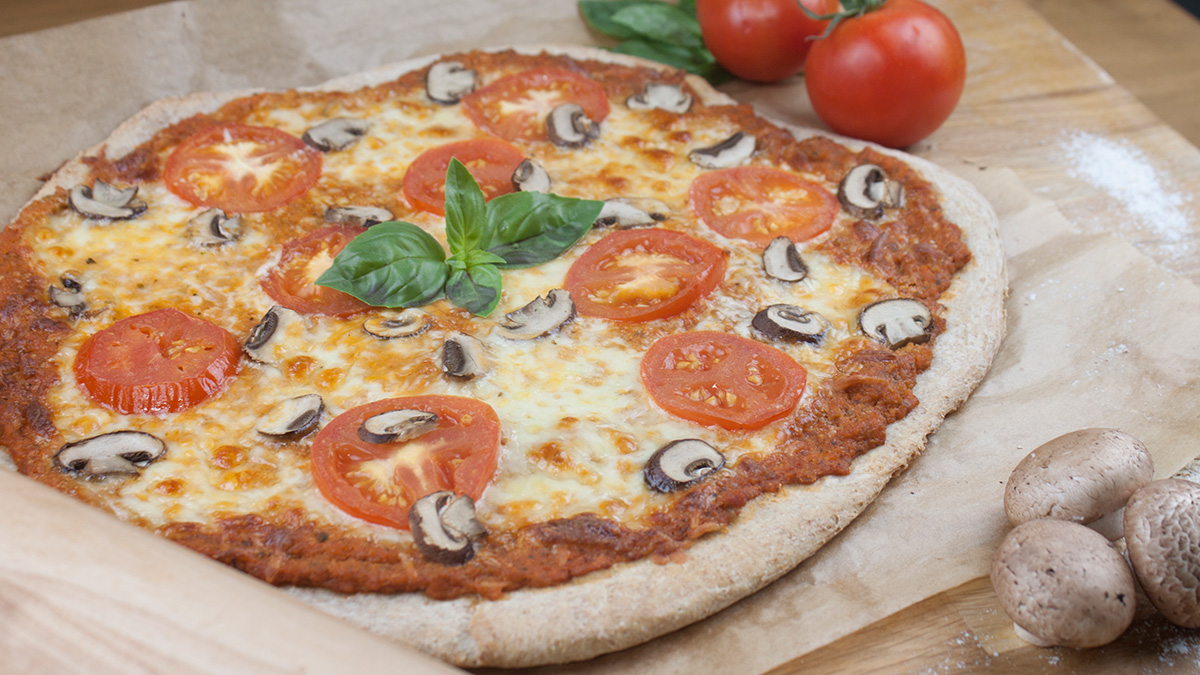 Toms selbstgemachter Pizzateig
