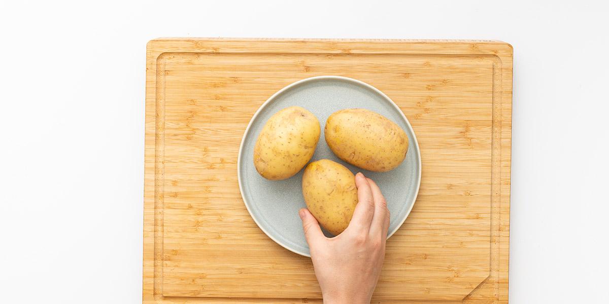 Freche Freunde Ofen Kartoffel Step 1