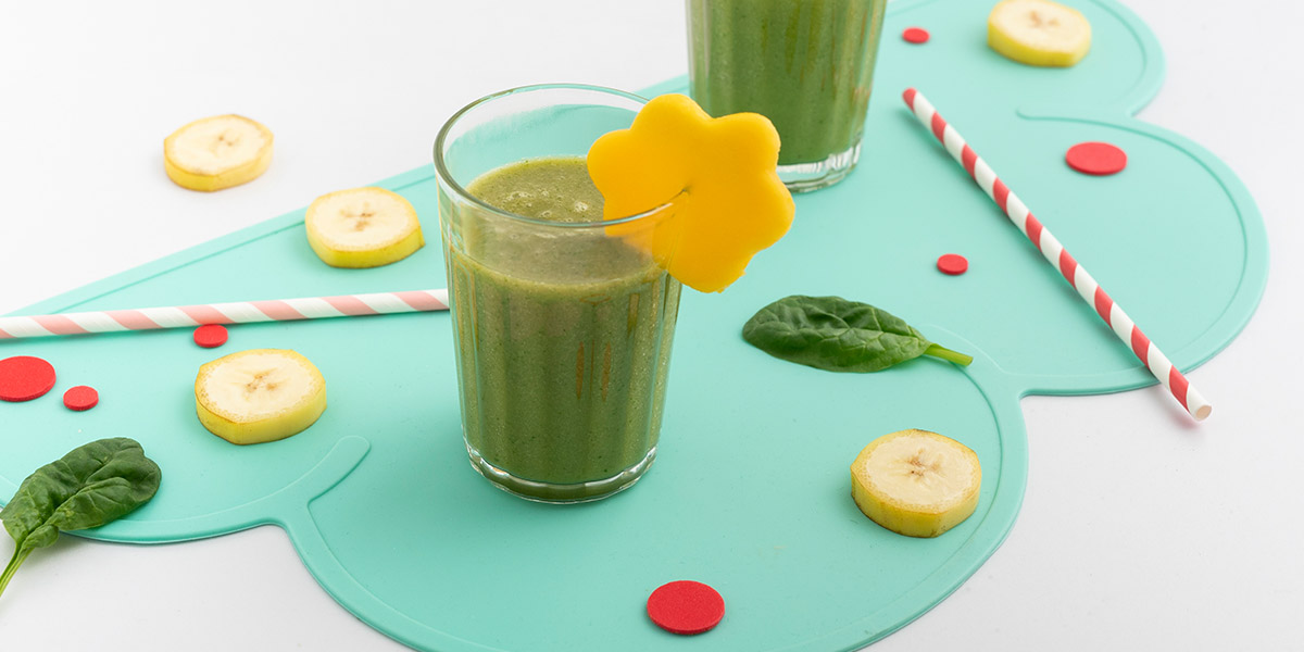 Simons Spinat Smoothie