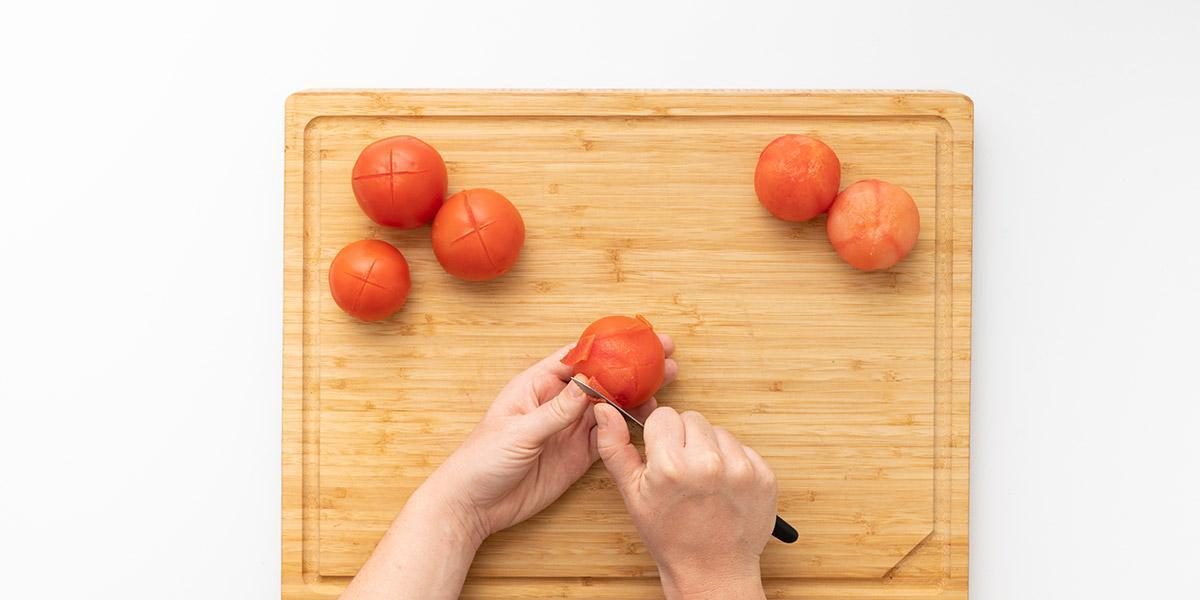 Freche Freunde Tomatensuppe Step 1