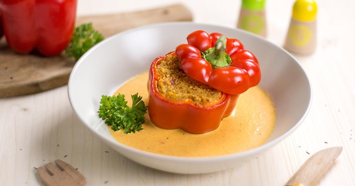Pippas gefüllte Couscous Paprika