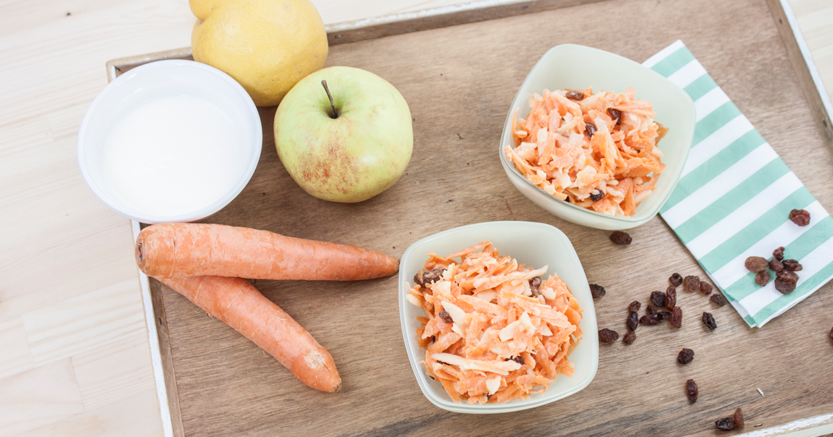 Alfreds Karotten Apfel Salat