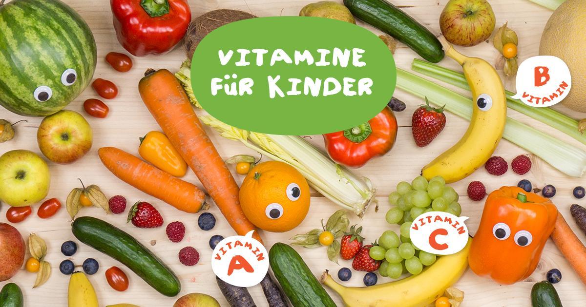 Warum sind Vitamine wichtig für Kinder?