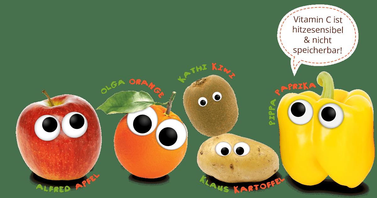 Warum sind Vitamine wichtig - alles zu Vitamin C