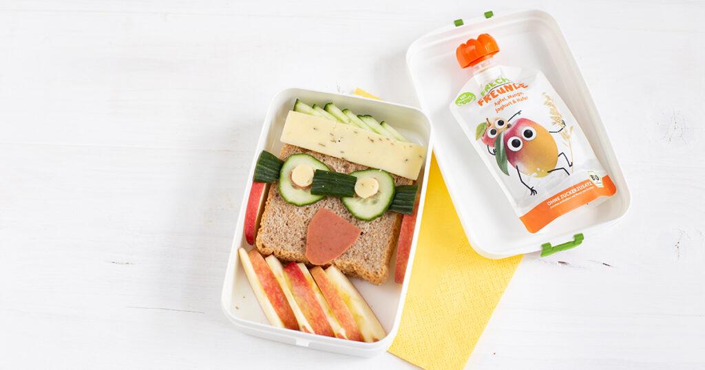 Freche Lunchboxrezepte