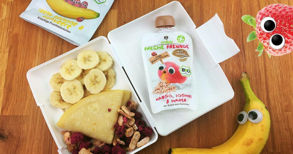 Lunchbox-Rezepte-Bananeneis in der Waffel
