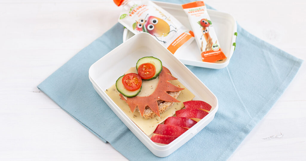 Freche Kinder Lunchbox Rezepte Teil 2