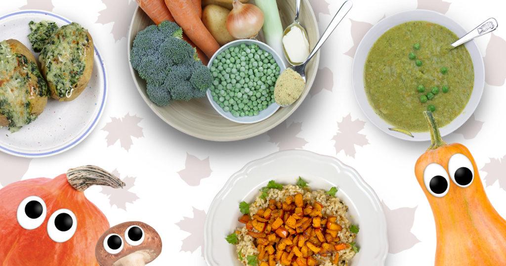 Herbstliche Rezepte für Kinder