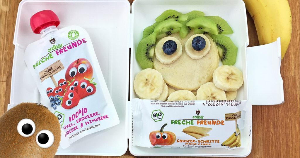 Lunchbox Rezepte- Lustiges Pfannkuchen Gesicht