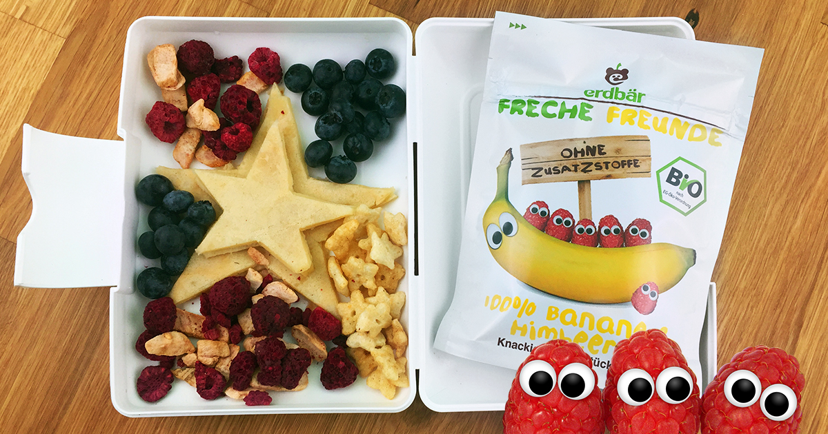 Freche Kinder Lunchbox Rezepte Teil 1