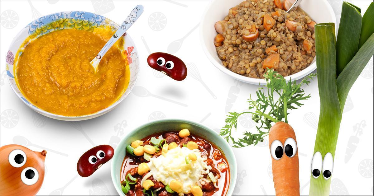 Eintöpfe und Suppen für Kinder