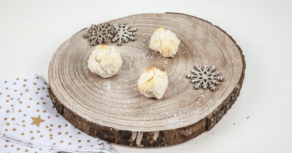 Freche Weihnachtsrezepte für Kinder Kims Kokosmakronen