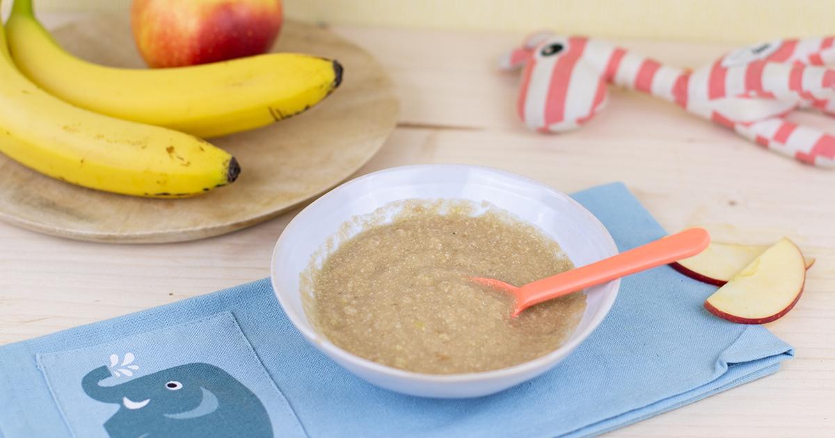 Alfreds Apfel Bananen Brei – ab dem 6. Monat