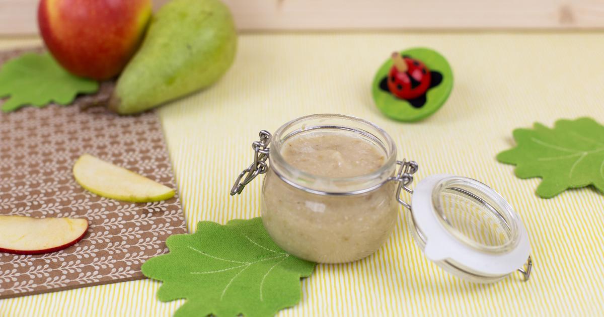 Betties Getreide Obst Brei Rezept – ab dem 8. Monat