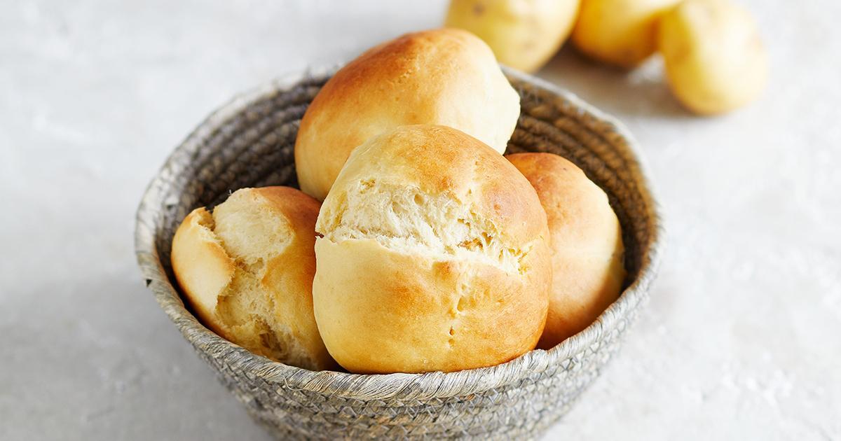 Klaus' einfache Kartoffelbrötchen