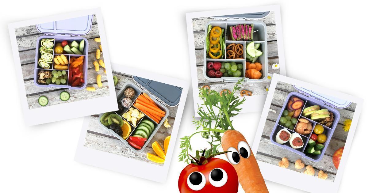 Freche Kinder Lunchbox Rezepte Teil 3