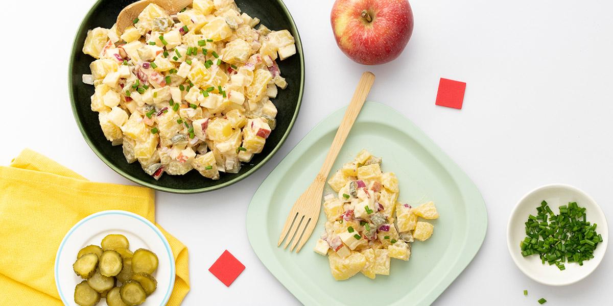 Klaus' Kartoffelsalat mit Apfel