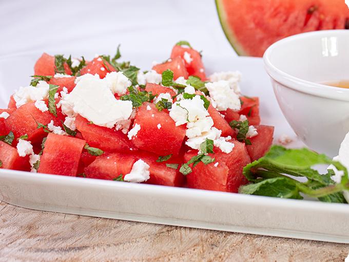 Willis Wassermelonen Salat mit Feta