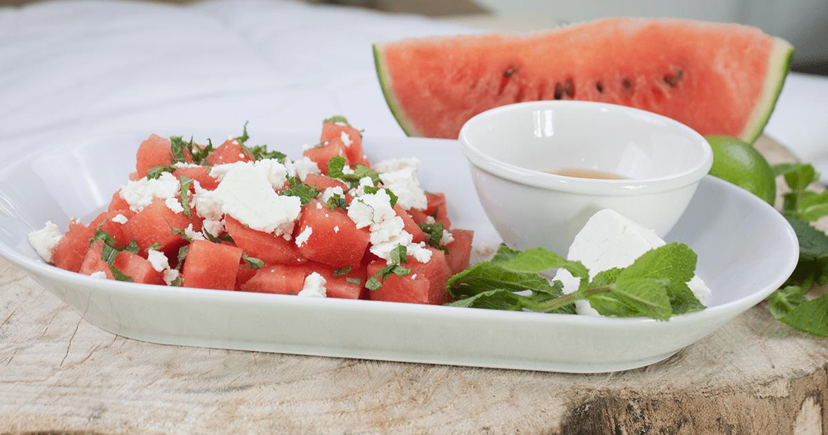 Willis Wassermelonensalat mit Feta