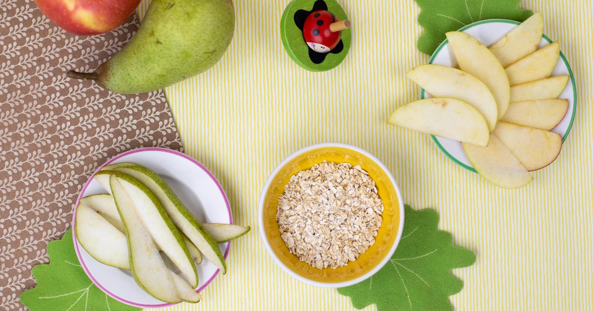 Betties Getreide Obst Brei Rezept Vorbereitung