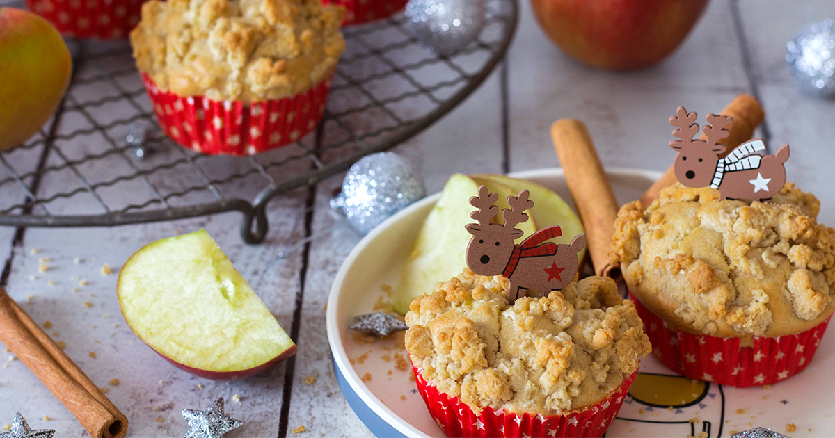 Alfreds Apfel-Zimt Muffins