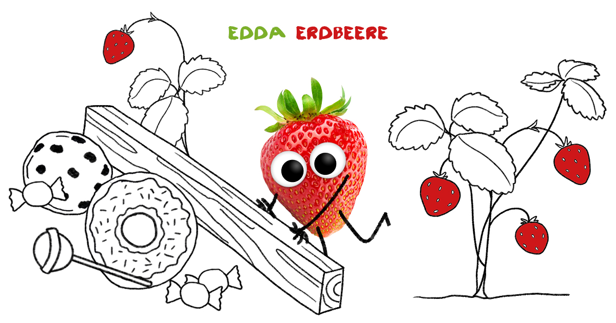 Edda Erdbeere, die Heldin