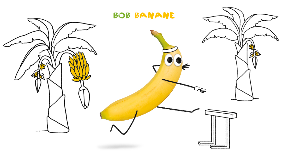 Bob Banane, die Sportskanone