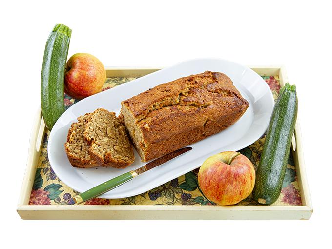 Alfreds Apfelbrot mit Zucchini