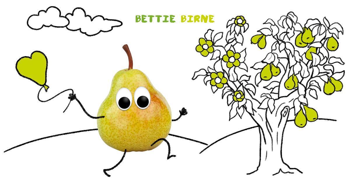 Bettie Birne, die Liebe