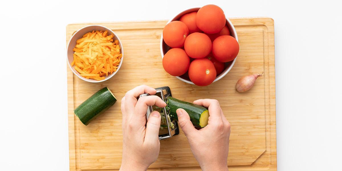 Freche Freunde Tomaten Risotto Step 1