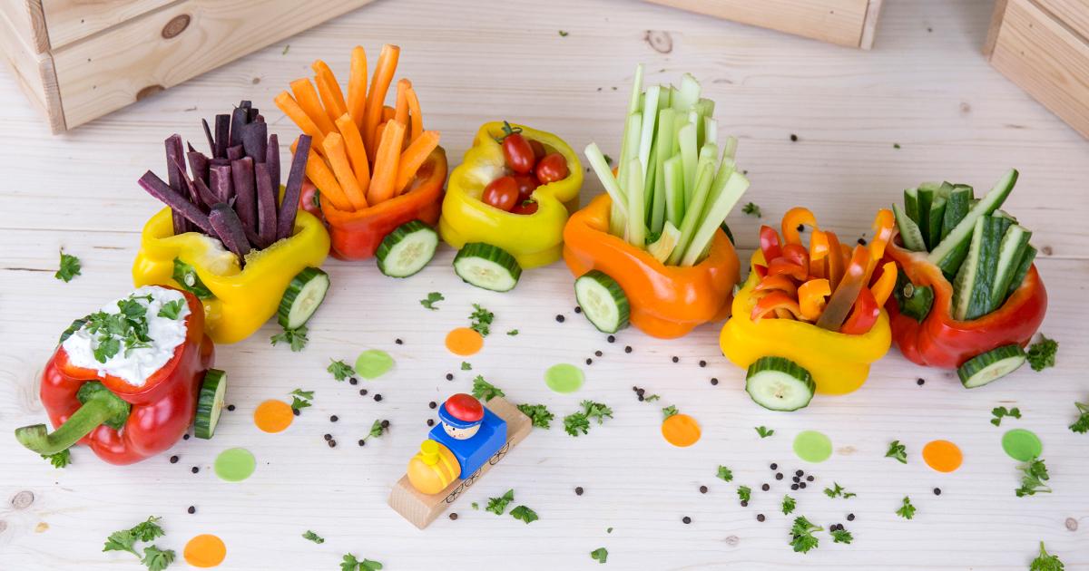 Pippas bunter Gemüsezug