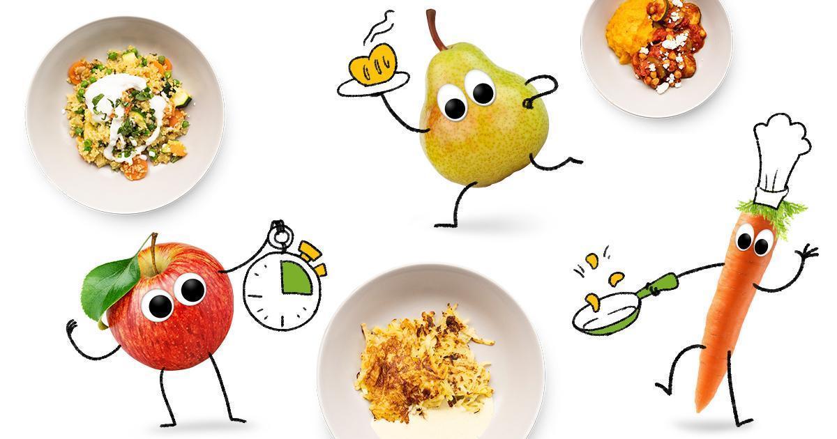 Freche Freunde schnelle Kindergerichte