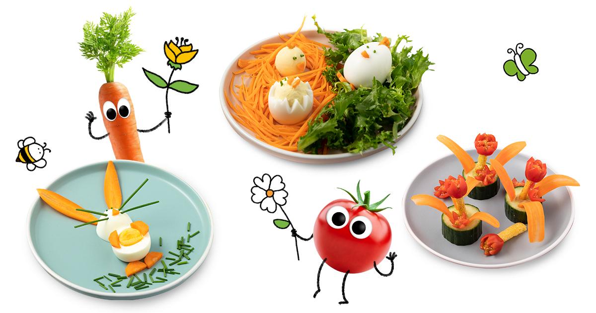 Oster-Snacks für Kinder