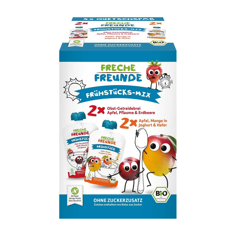 Quetschie Frühstücks-Mix 4er Pack