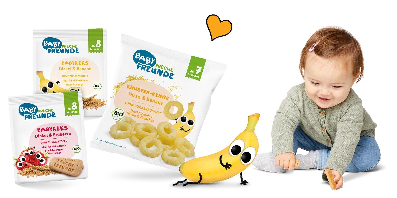 Baby Freche Freunde Kategorie Baby Snacks