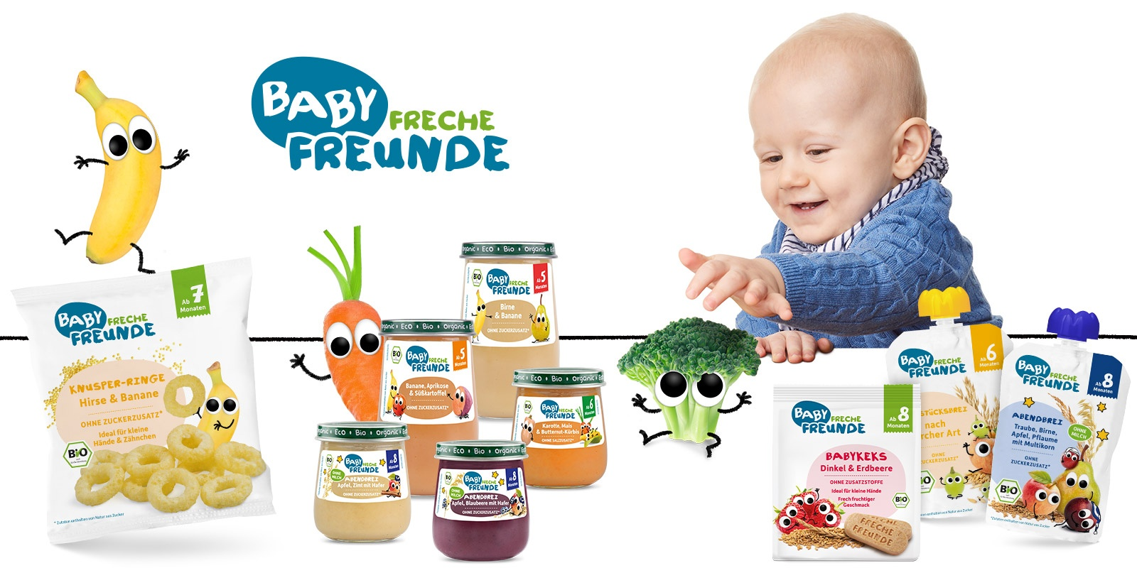 Baby Freche Freunde Babynahrung