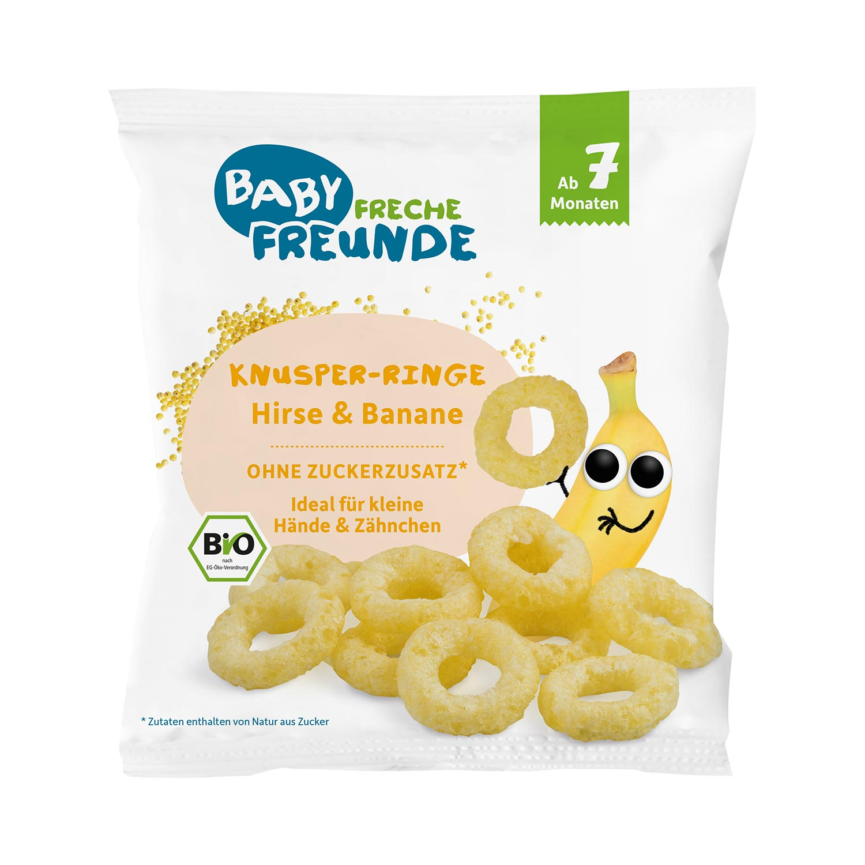 Knusper-Ringe Hirse & Banane