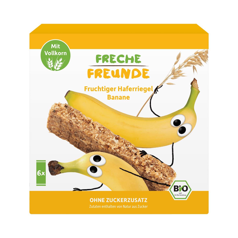 Fruchtiger Haferriegel Banane 6er Pack