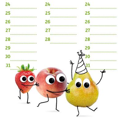 Freche Freunde Geburtstagskalender