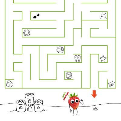 Freche Freunde Labyrinth