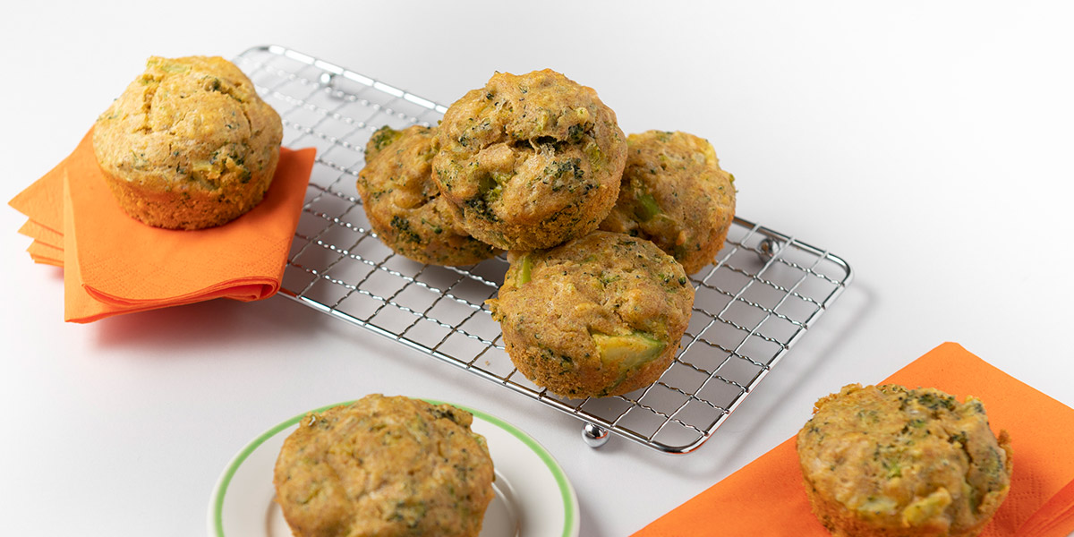 Beates Brokkoli Muffins