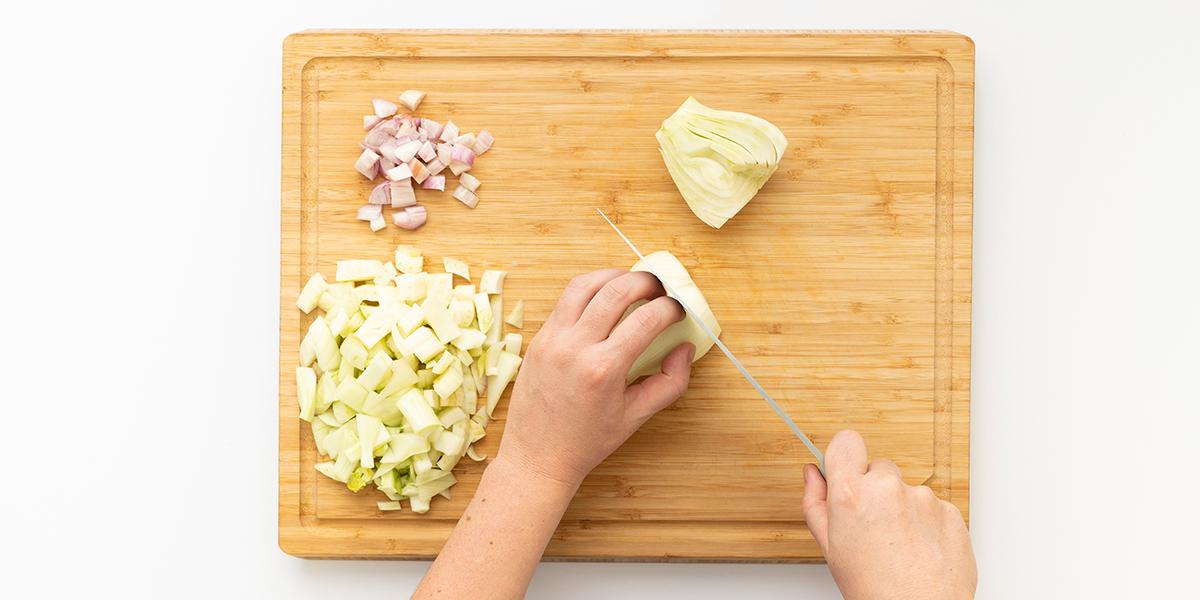 Freche Freunde Fenchel Linsen Suppe Step 1