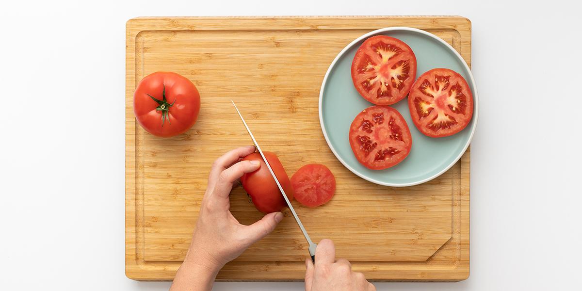Freche Freunde Knusper Tomaten Step 1