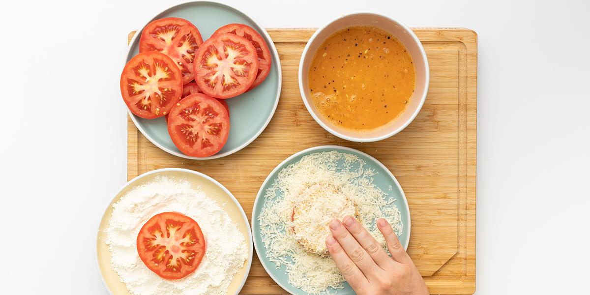 Freche Freunde Knusper Tomaten Step 2