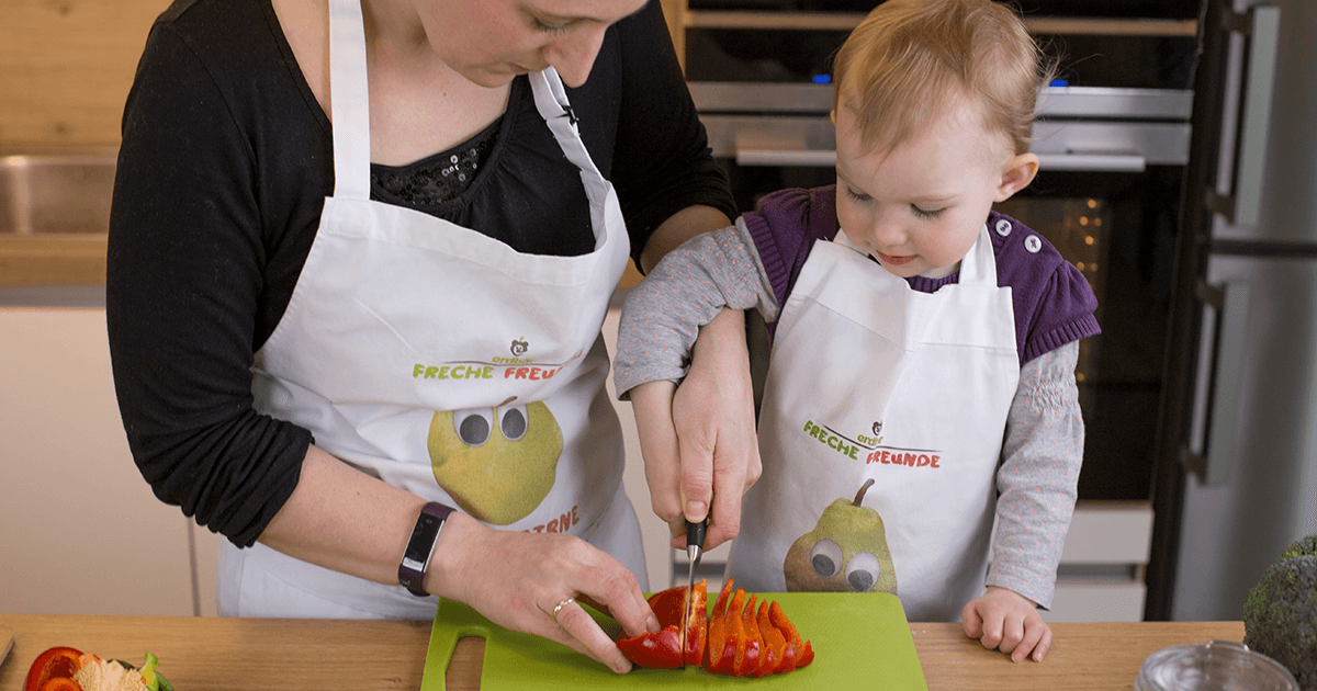 Scharfe Messer & kleine Hände - Tipps fürs Kochen mit Kindern